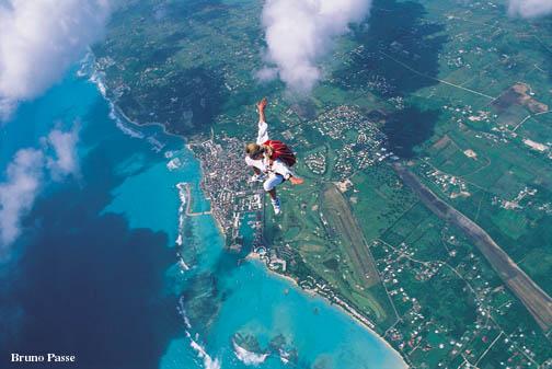 parachutisme guadeloupe