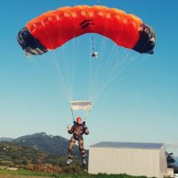 Parachute de France - Springo 160, complet, apte aux sauts