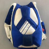 Parachute bleu et blanc